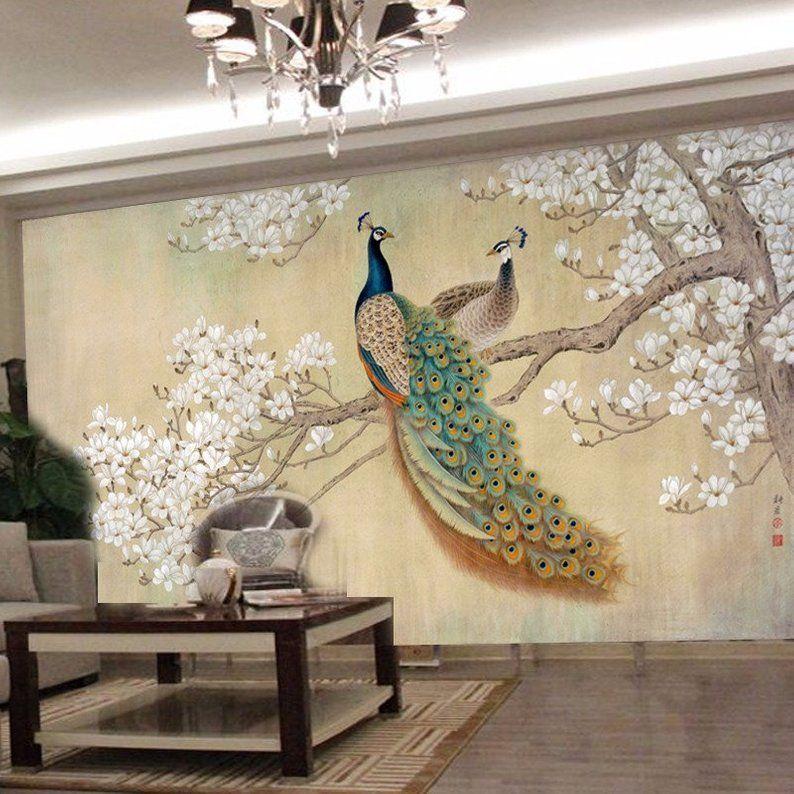 Photo Wallpaper Modern Art Painting Chinese Living Room