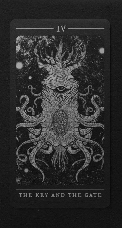 Elder Tarot by Jan Pimping   tarot   Yog sothoth, Lovecraft