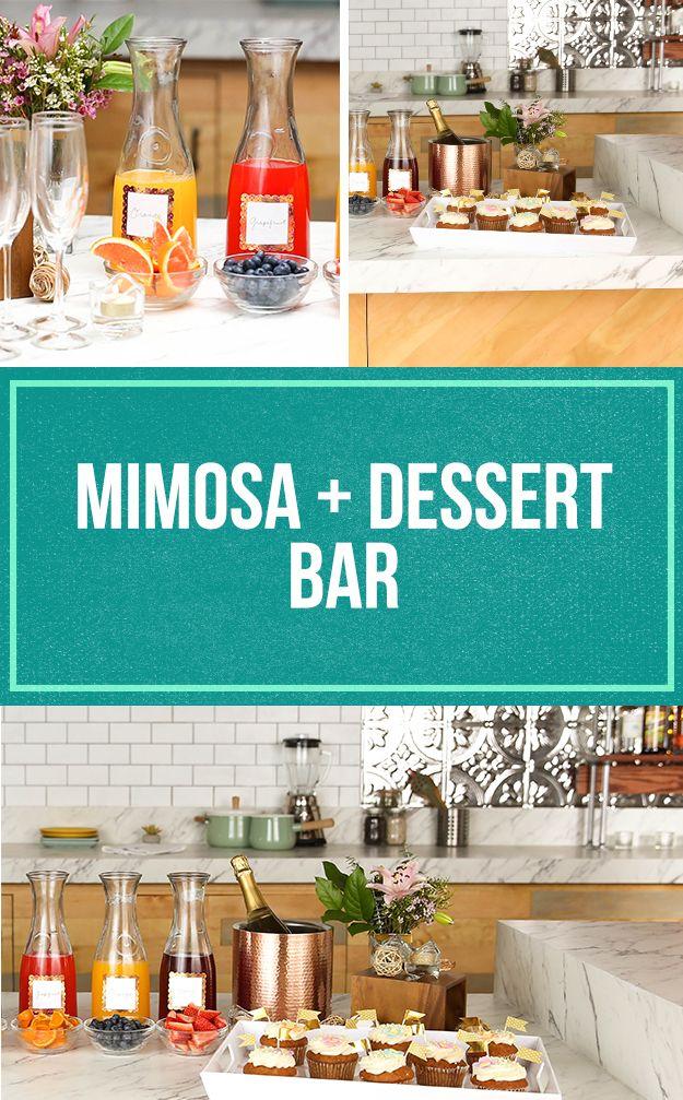 Mimosa + Dessert Bar
