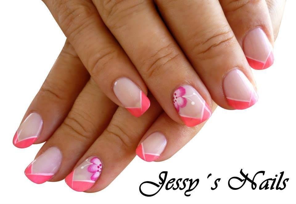 U as decoradas u as fucsia nailart pink u as bonitas pink fucsia pinterest fucsia - Unas bonitas decoradas ...