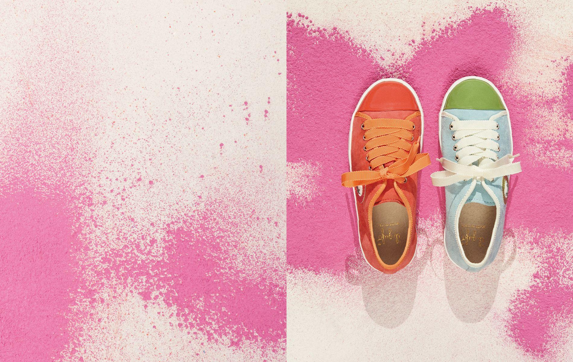 #ilgufo #ss14 #fashionkids #fashiongirls #kidswear #childrenswear #ilgufosummercolors #shoes #shoecollection #spring #summer