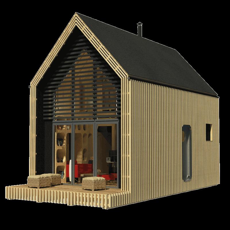 Transforming A Frame Cabin Plans Via Relaxshacks A Frame Cabin Plans Getaway Cabins A Frame House