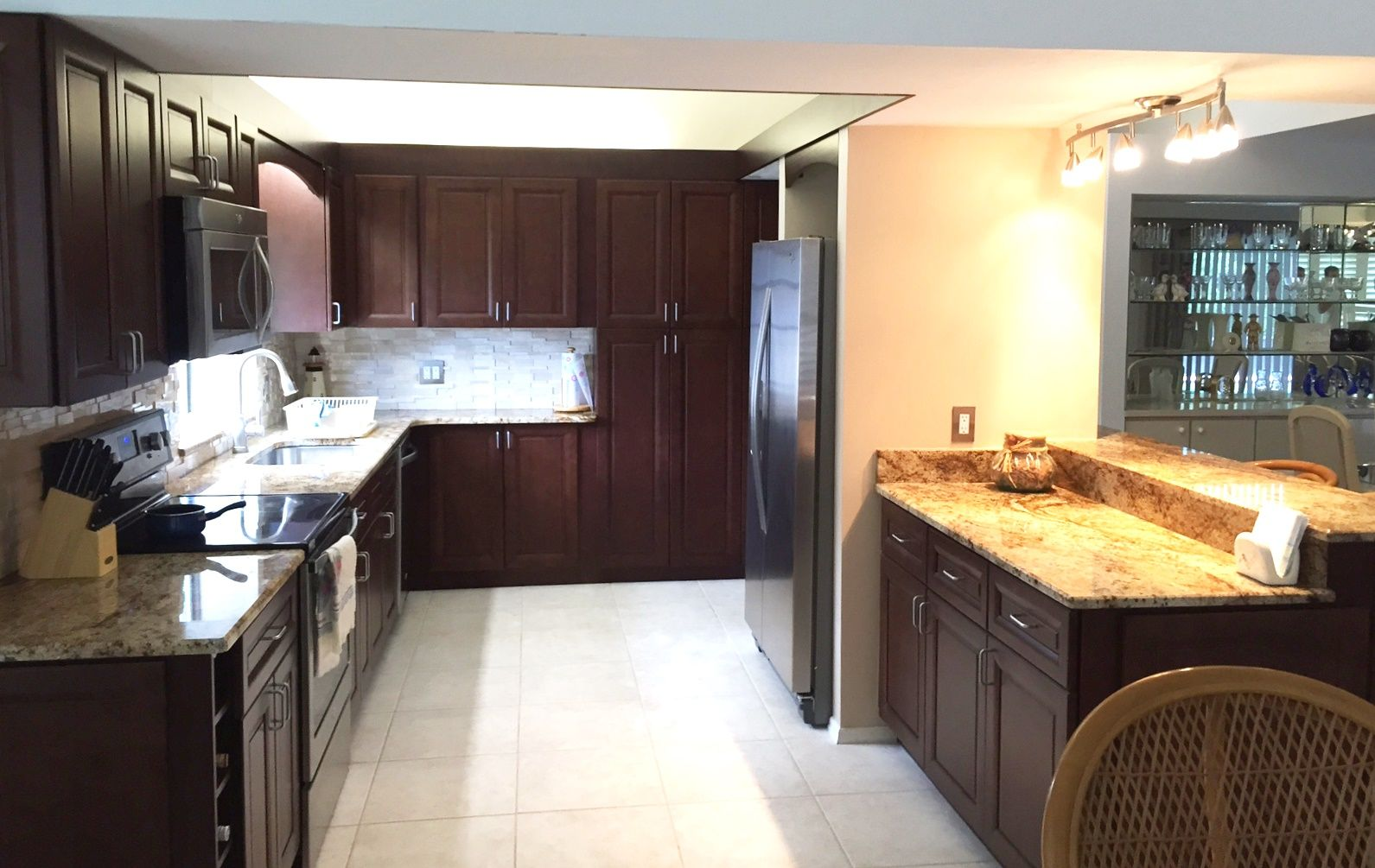 A Recent Contemporary Kitchen Remodel Project By Alliance Group Using Adornus  Cabinetry. See More Project