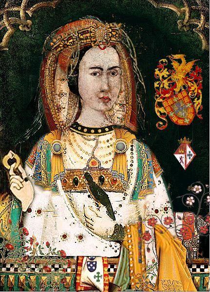 Juana de Avis, esposa de Enrique IV de Castilla. | Reina de ...