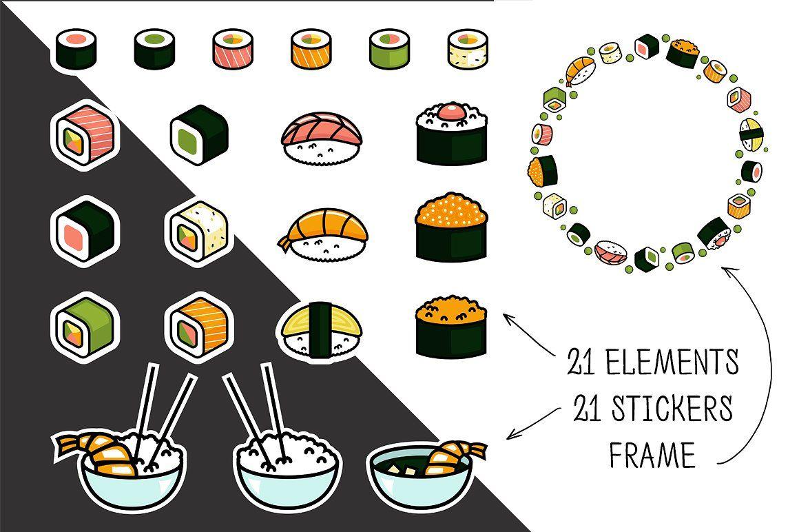 Sushi bar identity