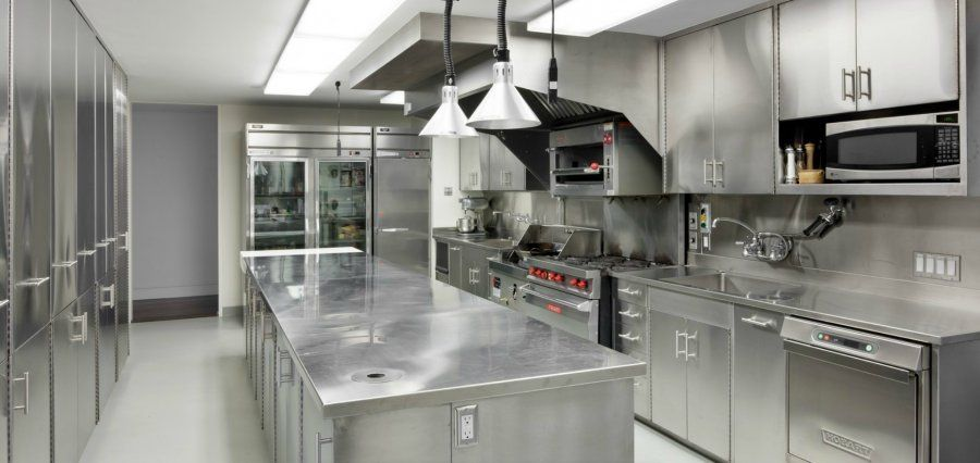 Restaurant Kitchen Interior 21 awesome stainless steel kitchen design ideas | stainless steel