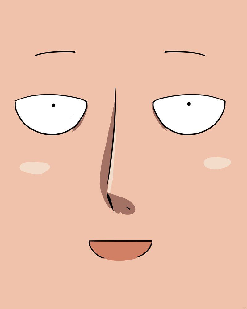 Saitama by sherwoodcomics anime one punch man one - Funny one punch man wallpaper ...
