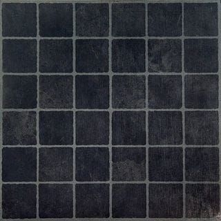 Pretty 12 Ceramic Tile Small 12X12 Cork Floor Tiles Square 12X24 Tile Floor 13X13 Floor Tile Young 2 Inch Ceramic Tile Coloured24X24 Ceiling Tiles Shop For Nexus Dark Slate Checker Board 12x12 Inch Self Adhesive ..