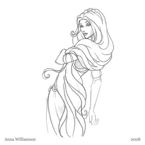 Easy Fairy Sketches