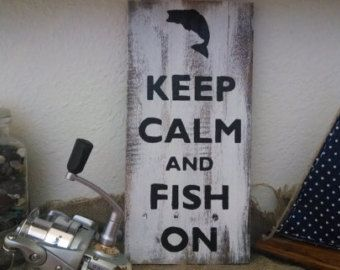 Handmade Pallet Art, Wall Hanging, fishing pallet sign, pallet board art, photo prop, home decor, man cave home decor, birthday gift,