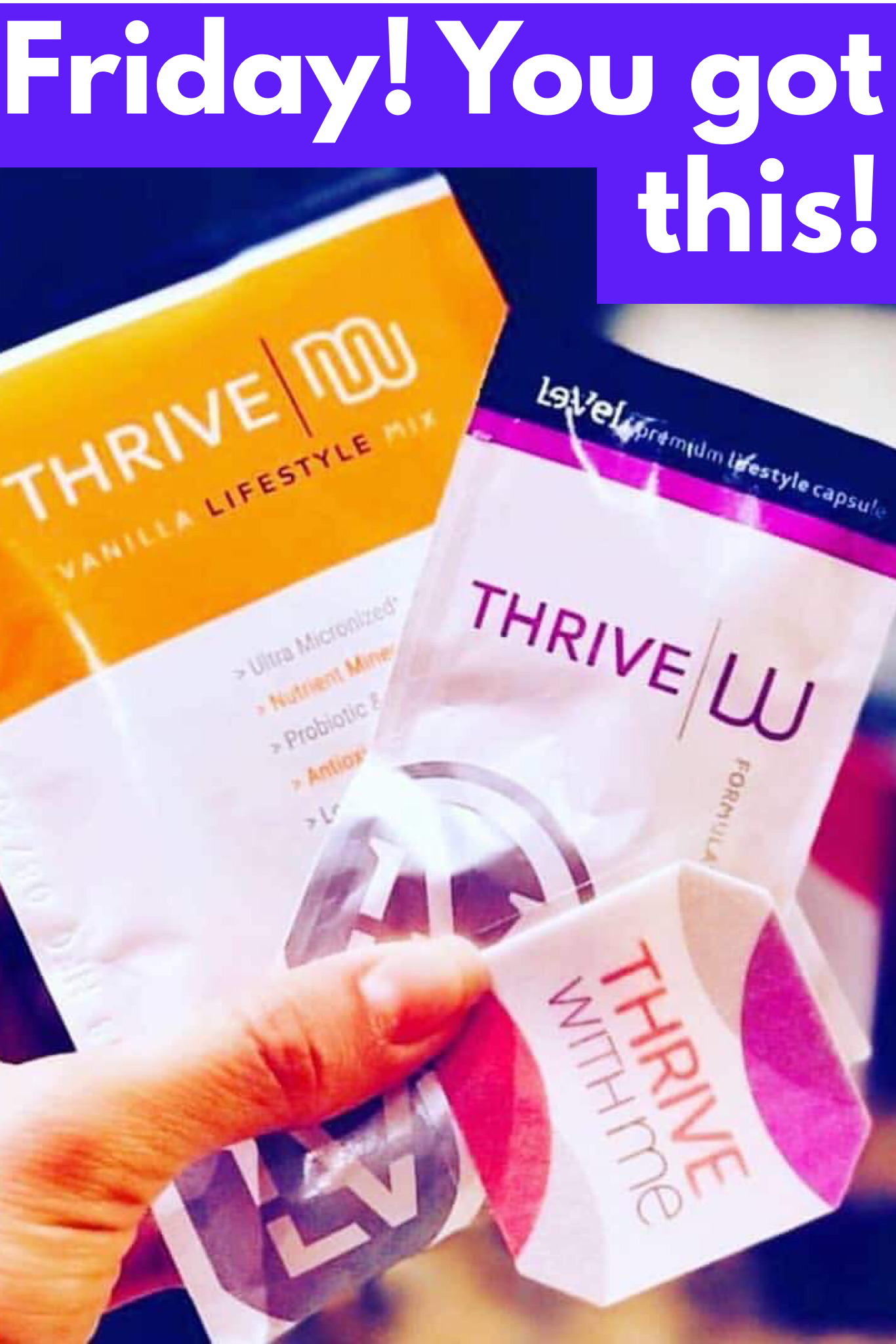 Thriving on a Friday!! Best Feeling Ever!! Ready to Rock my weekend. Premium Wearable Nutrition Weight Management Energy Health Mental Clarity Mood Support ...