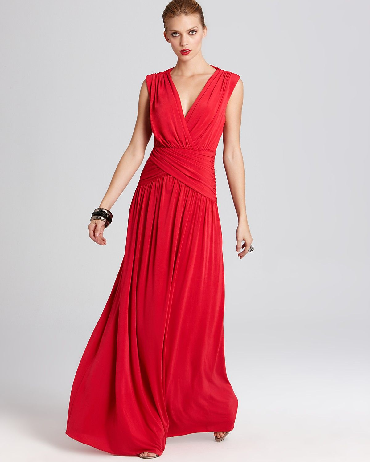 BCBGMAXAZRIA Gown - Open Back Gown | Bloomingdale's