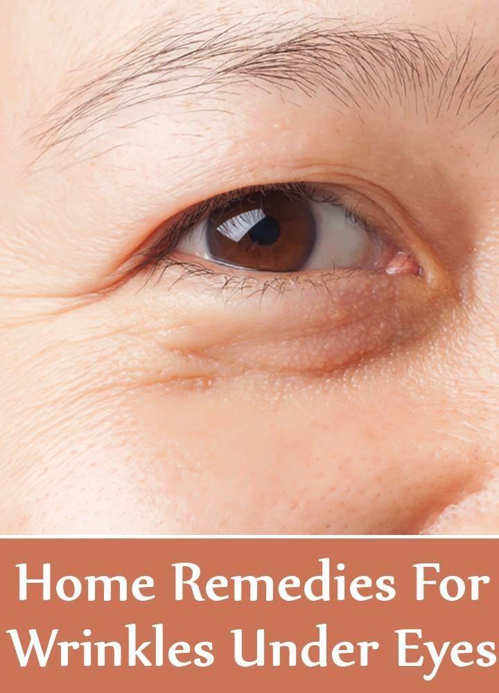 Home Remedies For Wrinkles Under Eyes #WomensBeautySecrets