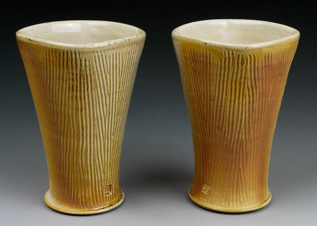 Square Tumblers Feaceted by John Skelton