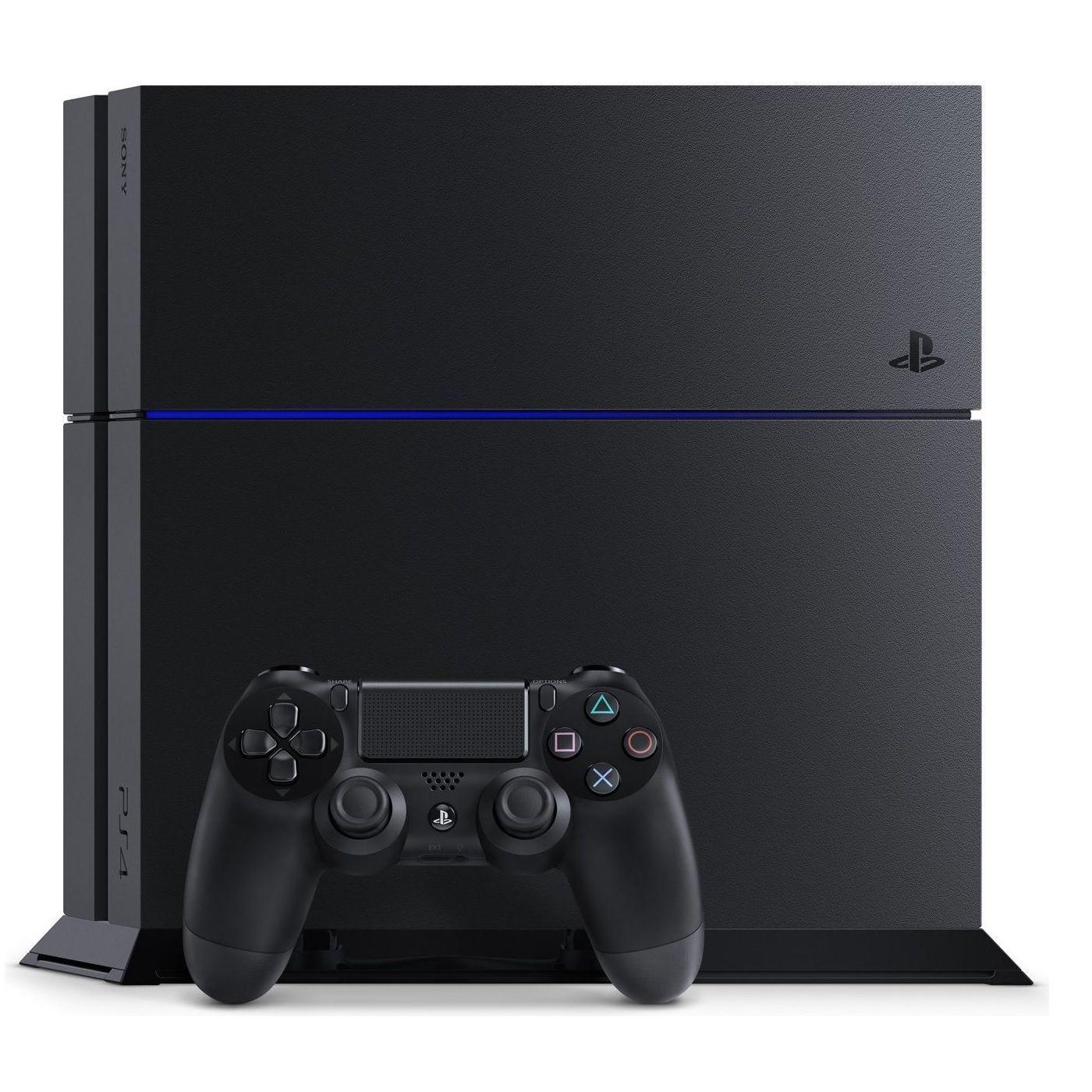dfe61c9d533e8 New Sony PlayStation 4 PS4 500GB Original Matte Black Console CUH ...