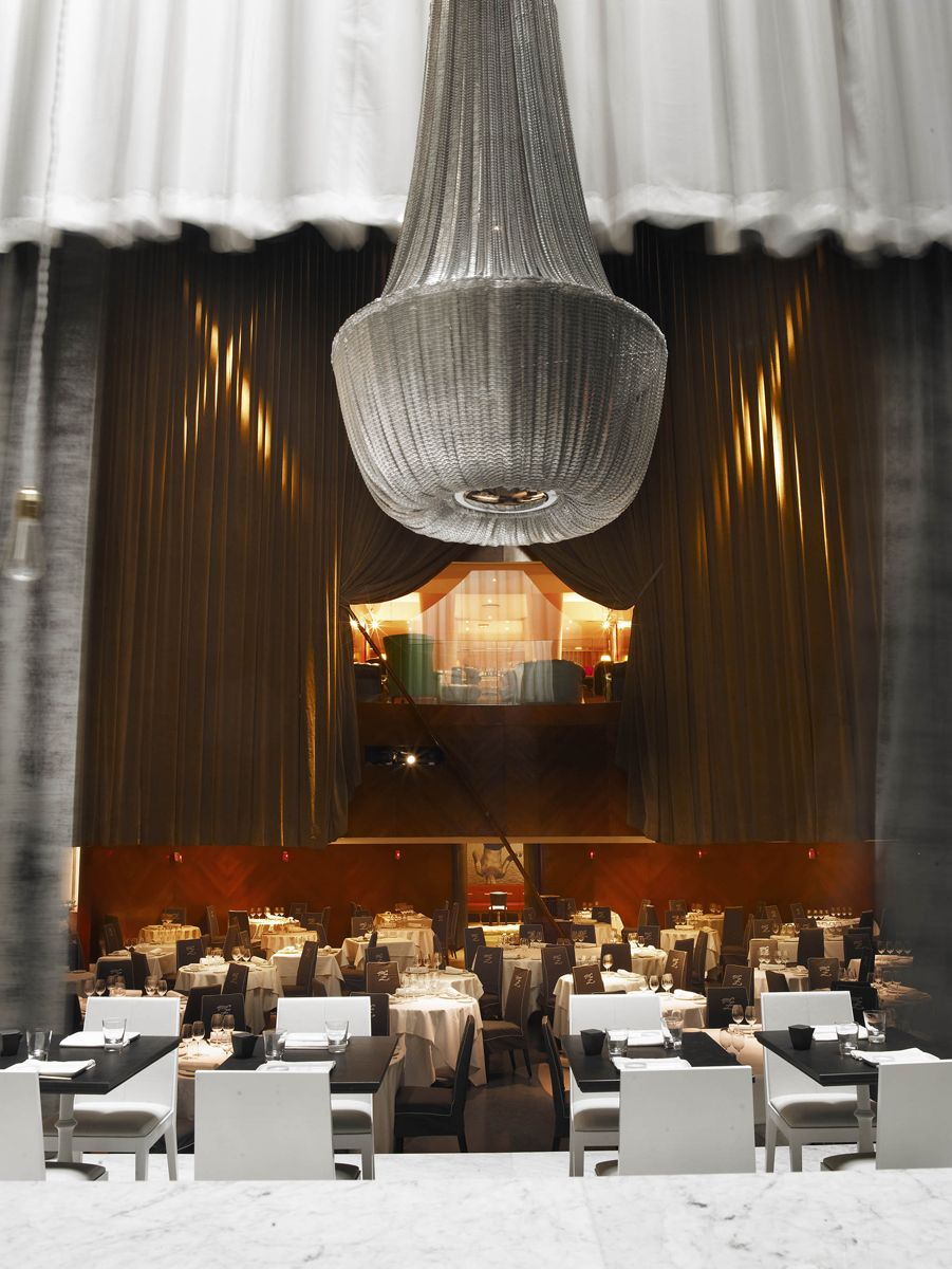 Restaurante teatriz madrid starck javier mariscal arnold chan and bruno borrione - Hotel mariscal madrid ...