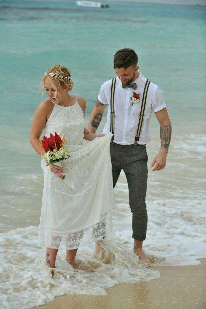 Beach Wedding Dress Code Wording