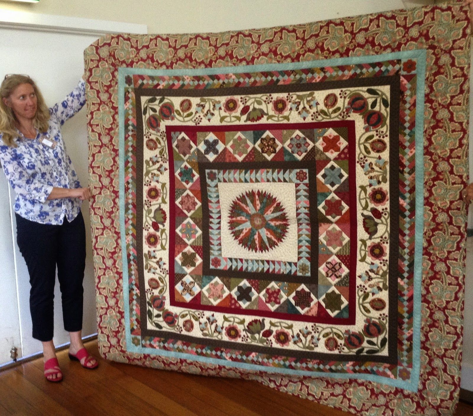 Threadbear | Quilts | Pinterest | Medallion quilt : threadbear quilts - Adamdwight.com