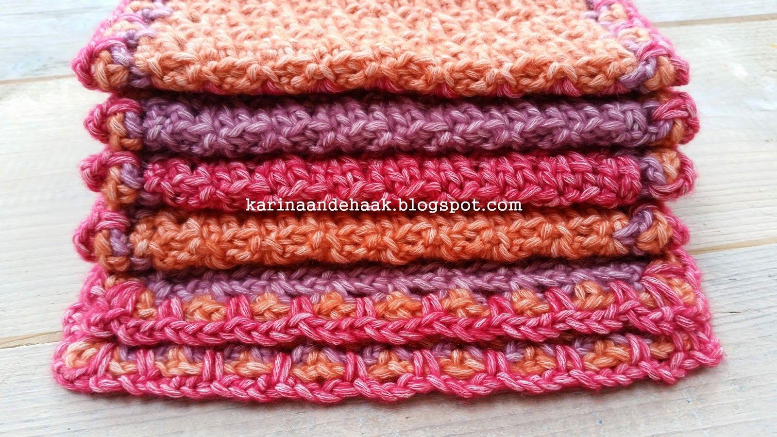 Karin aan de haak! Sjaal - Patroon in het Nederlands