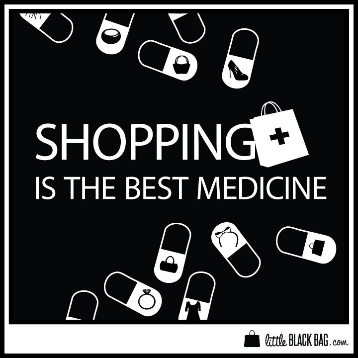 Best Quotes About Medicine: Do You Think Shopping Is The Best Medicine? #retailtherapy