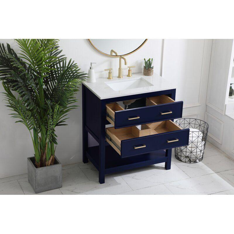 Goodin 30 Single Bathroom Vanity Set In 2021 Single Bathroom Vanity Vanity Cabinet Vanity Set
