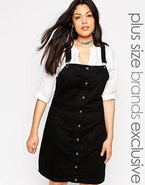 55c9380391 Vestido estilo pichi vaquero de Alice   You