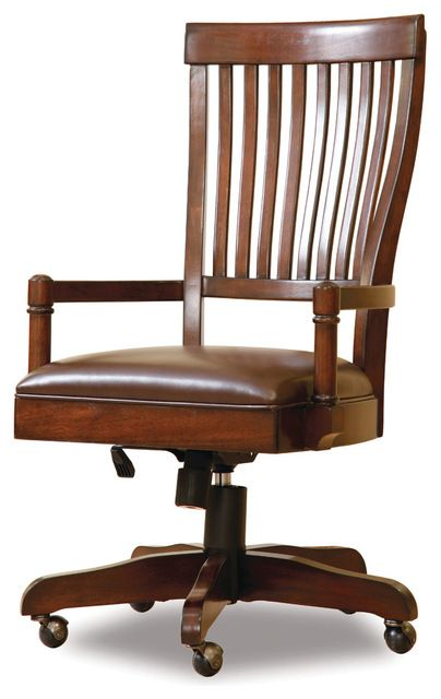 Hooker Furniture Abbott Place Desk Chair 637 30 220 Transitional Task Chairs