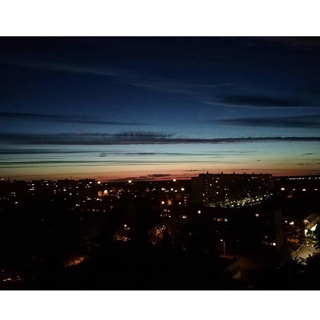 Sky Night Sunset City Vibe Lights Blue Dark Love Clouds Beauty Darknight Sky Night Sunset City Vibe Li Sunset City Blue Sunset Night Skies