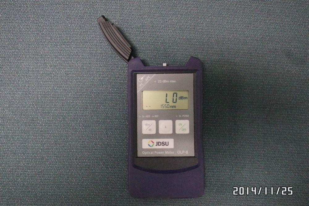 JDSU OLP-8 Optical Power Meter, BN:2256/03 #JDSU