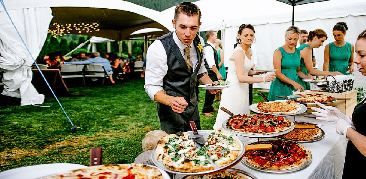 Your Wedding Reception Foodreceptionspizzawedding