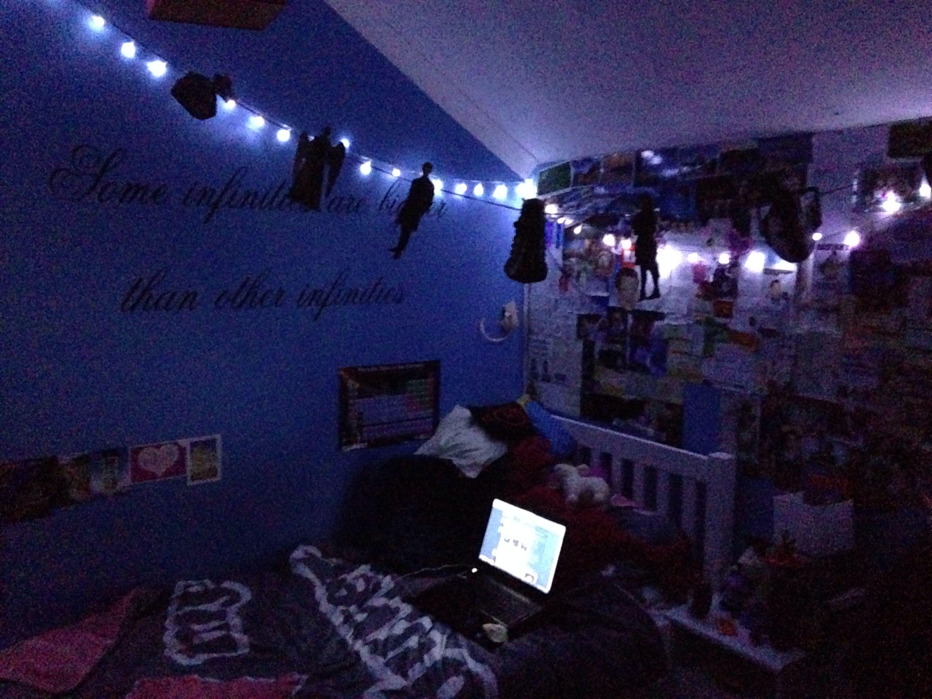 A finally tidy room