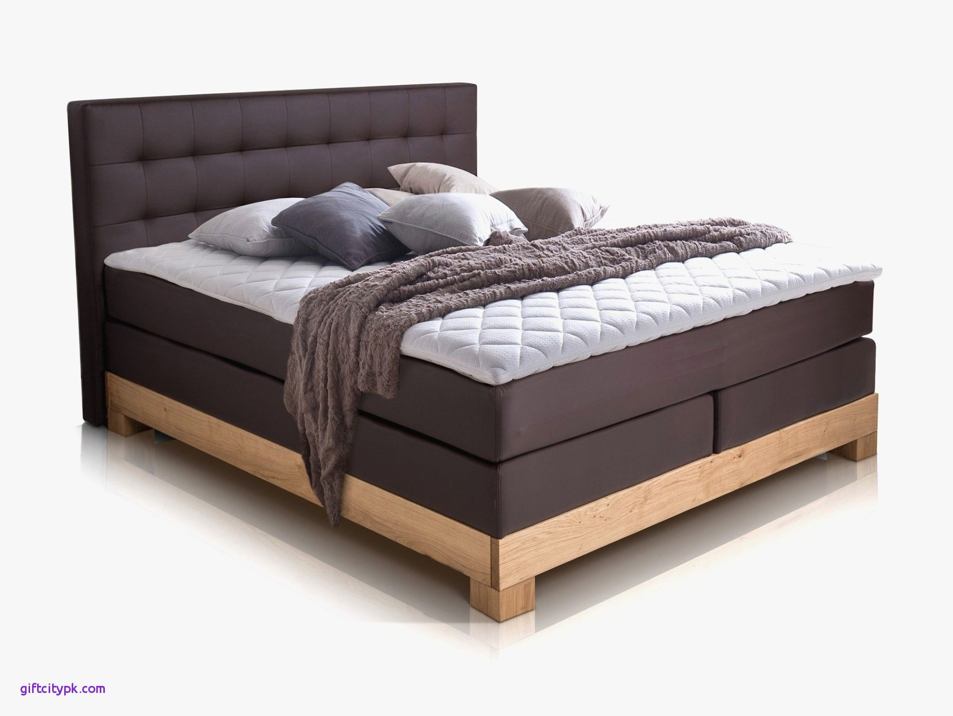 30 Elegant King Bed Frame With Box Spring Ideas Full Bed Frame