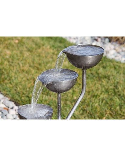 Tiered Cup Fountain Complete Kit W Pump Plumbing Water Etsy Spring Cups Fountain Copper Cups