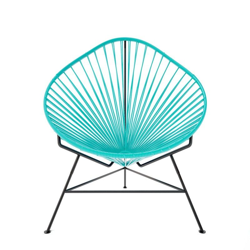 Innit Designs Turquoise Acapulco Chair   Current