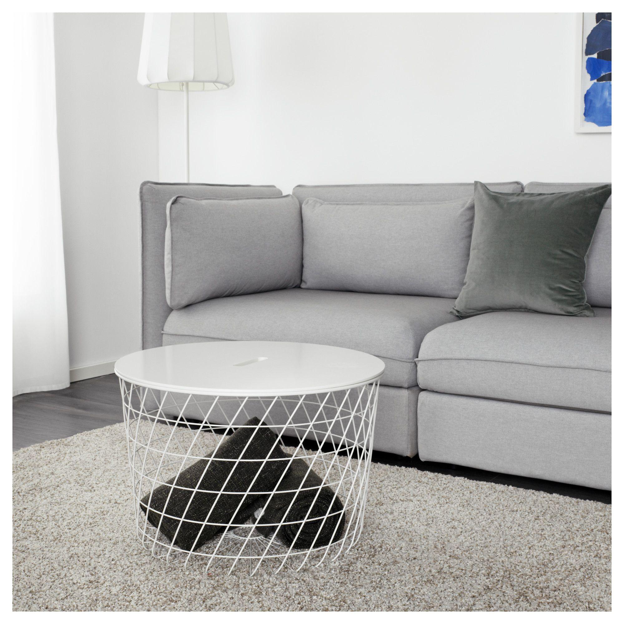 Folding table and chair set ikea ikea hemnes hemnes daybeds ideas - Kvistbro Storage Table White 61 Cm Ikea