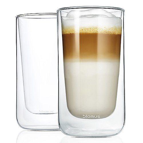 NERO Set of 2 Insulated Latte Macchiato Glasses #lattemacchiato