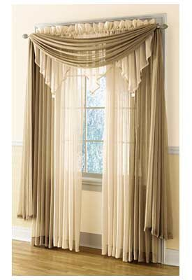 cortinas para sala (28 | Curtain ideas, Window and Curtain designs