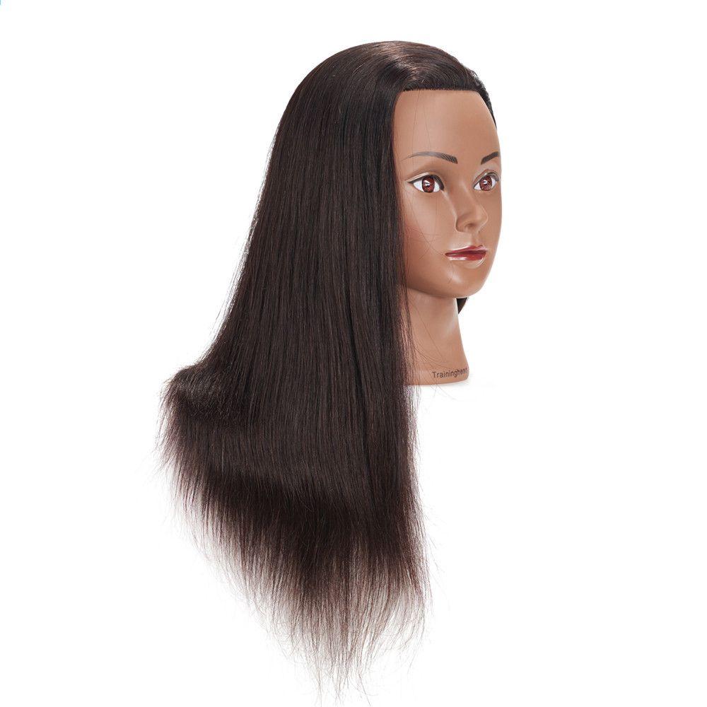 Traininghead 20 22 Mannequin Head 100 Ihmisen Hiukset Kampaamo Hairstyles Koulutus Head Manikin Cosmetology Doll Head With Mannequin Heads Manikins Doll Head