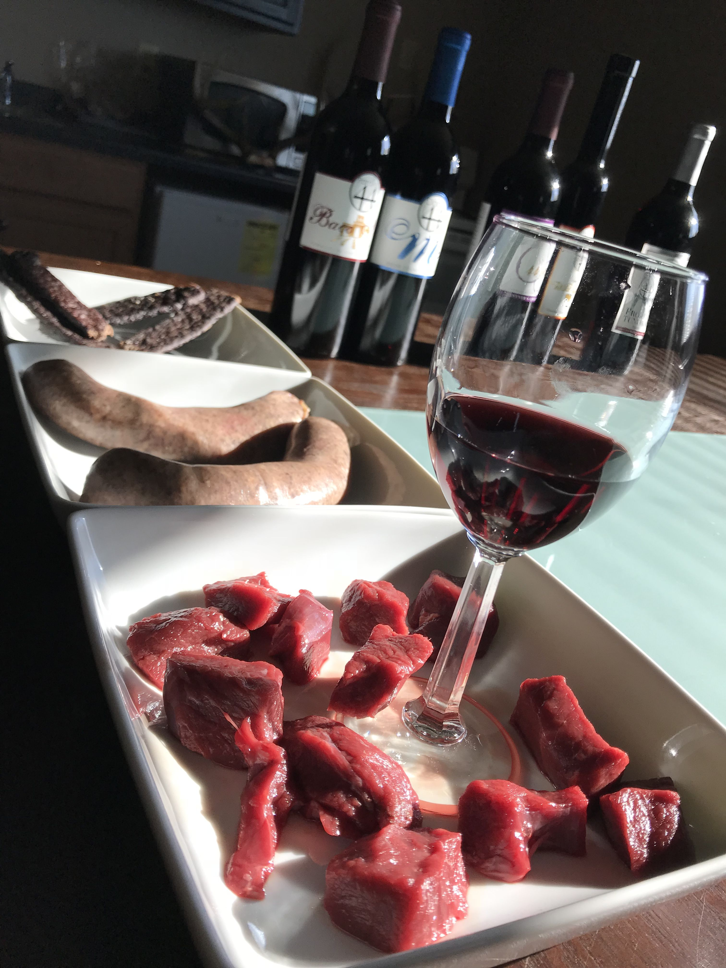 The BEST venison and vino combinations.