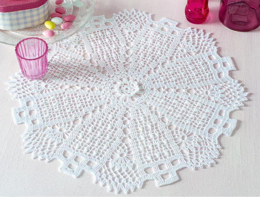 Free Crochet Pattern for a Doily | Doily | Pinterest | Croché ...