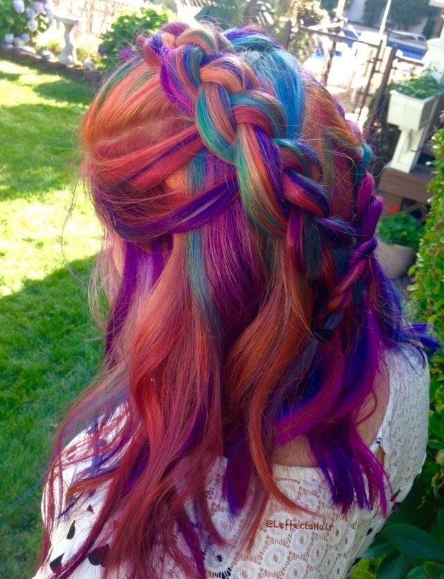Pin de Lina Luna en Colorful Hair | Pinterest | Melenas y Fantasía