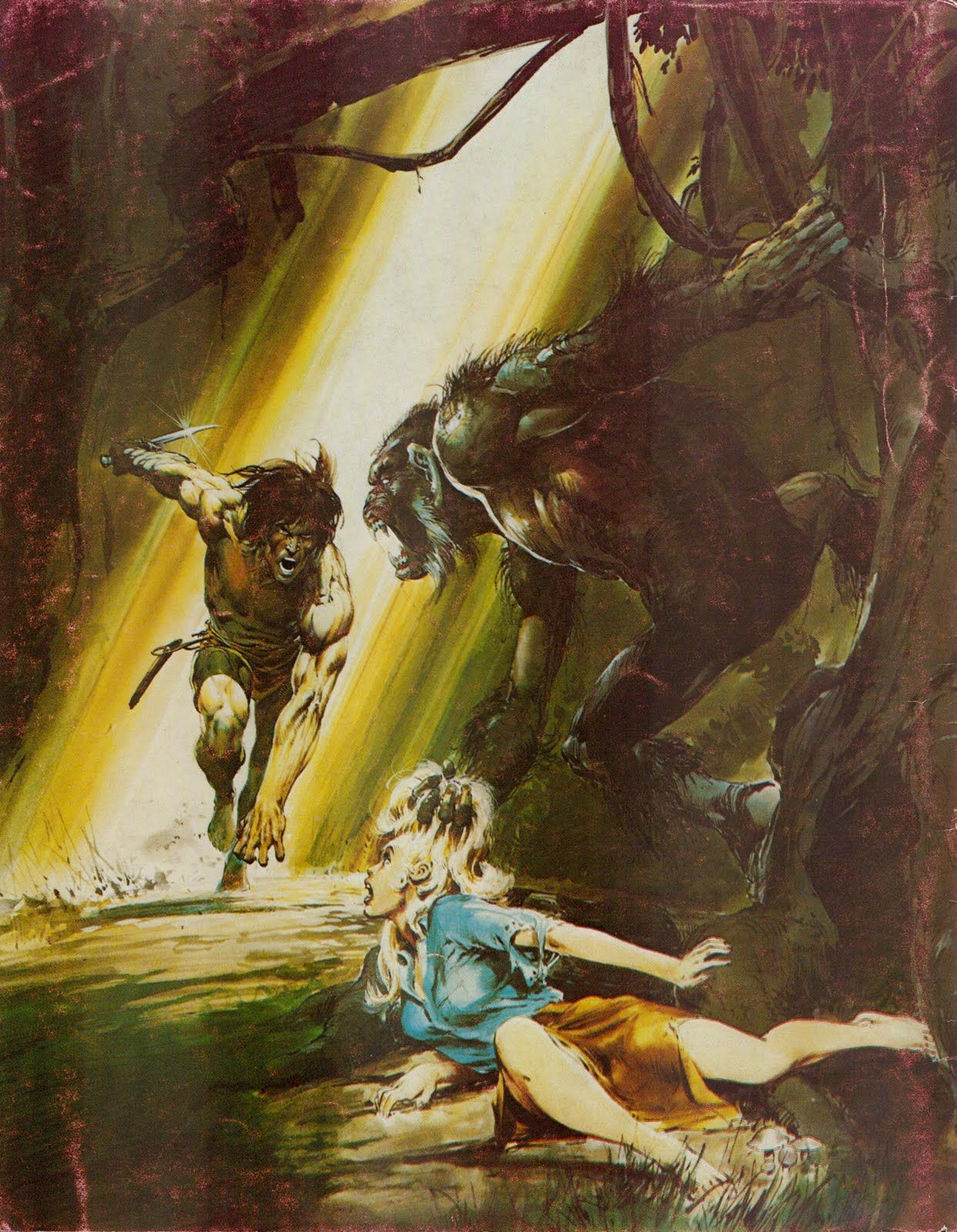 Neal Adams Tarzan Illustration, Late 70's.