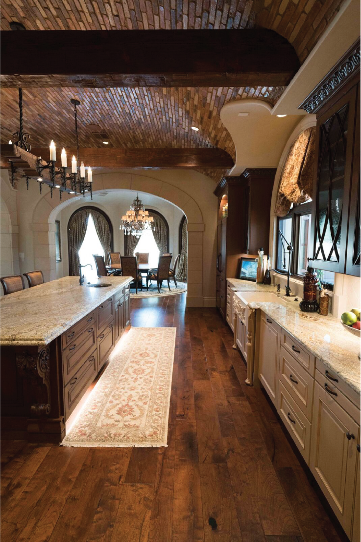 Texas Mesquite Hardwood Flooring Hardwood Design Company Texas Hardwood Design Hardwood Floors Contrasting Kitchen Cabinets