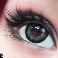 GEO Super Angel Grey Circle Lens Fashion Colored Contacts Enlarging Korean Contact Lenses | EyeCandy's