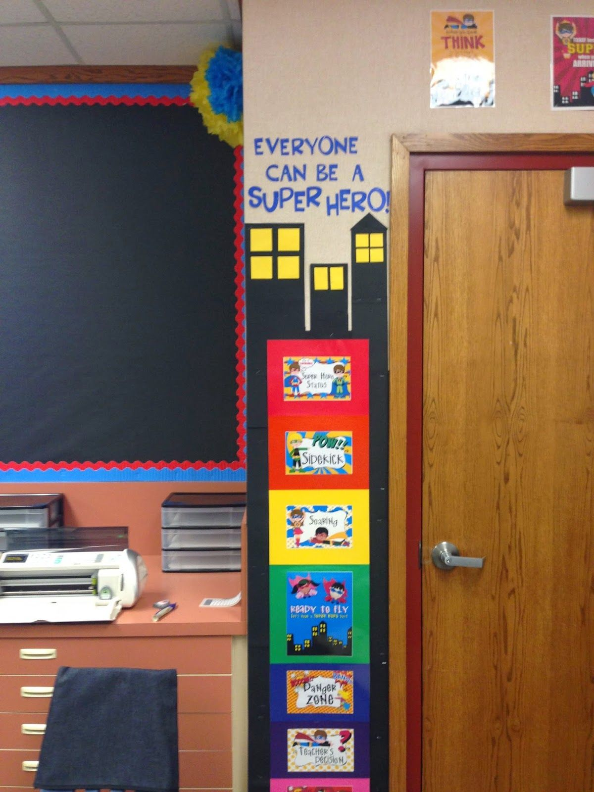 Sweet Life Of Second Grade It S All About Super Heroes
