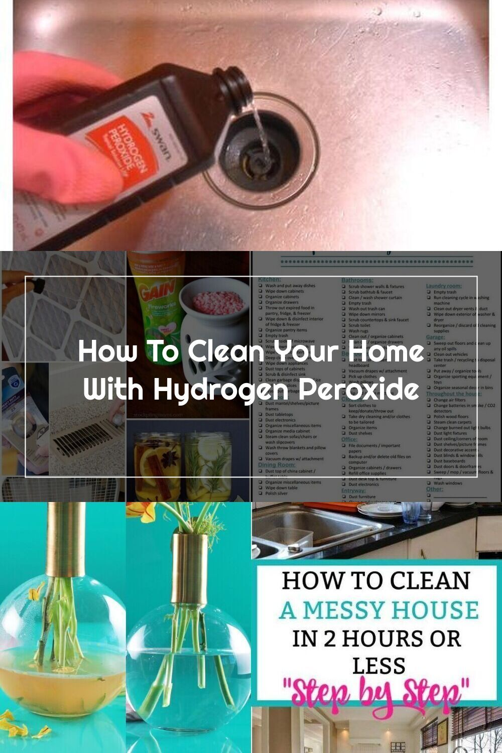 Clean your home with hydrogen peroxide cleaningtips