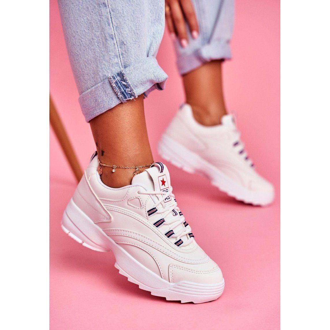 Eve Sportowe Damskie Buty Biale Boston Air Max Sneakers Sneakers Nike Nike Air