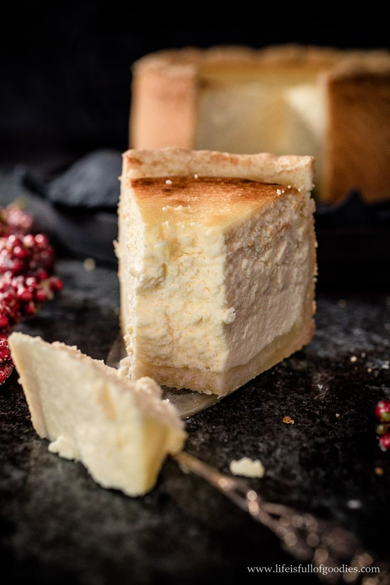 Der beste Käsekuchen ever - sensationell lecker! - Life Is Full Of Goodies