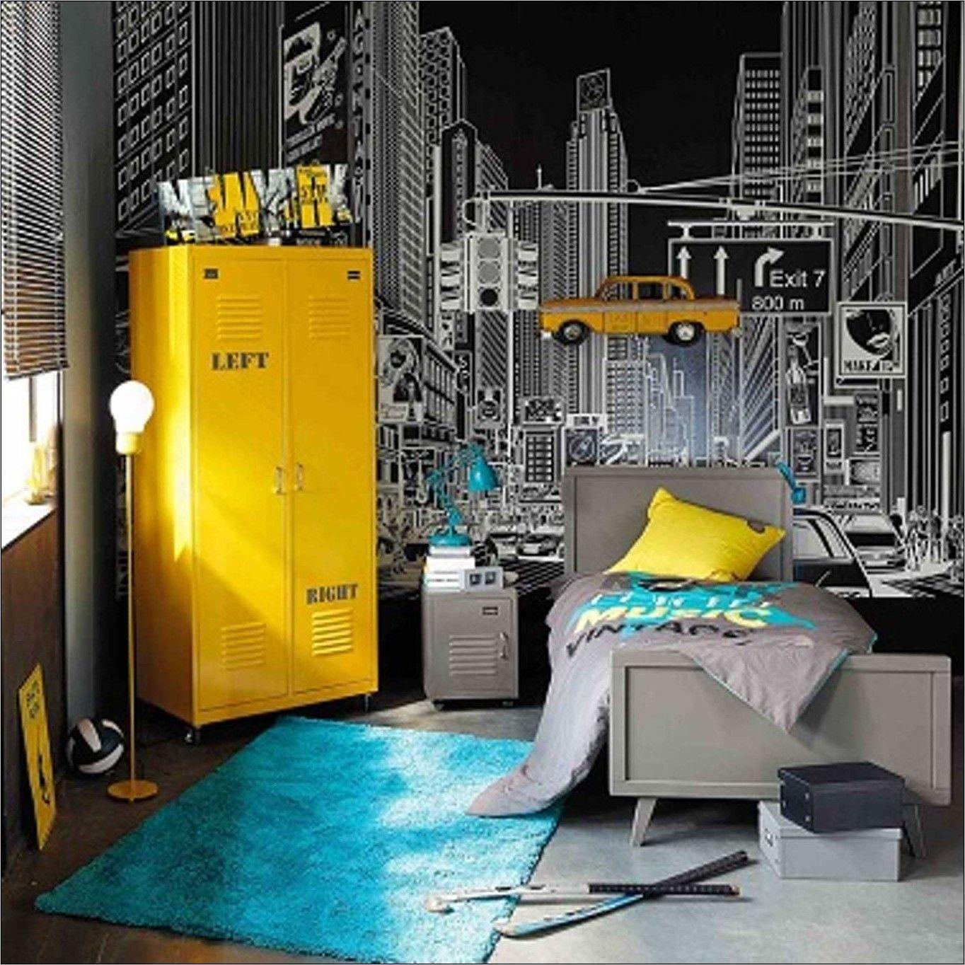 Deco Chambre Ado Garcon Londres En 2020 Deco Chambre Ado Garcon