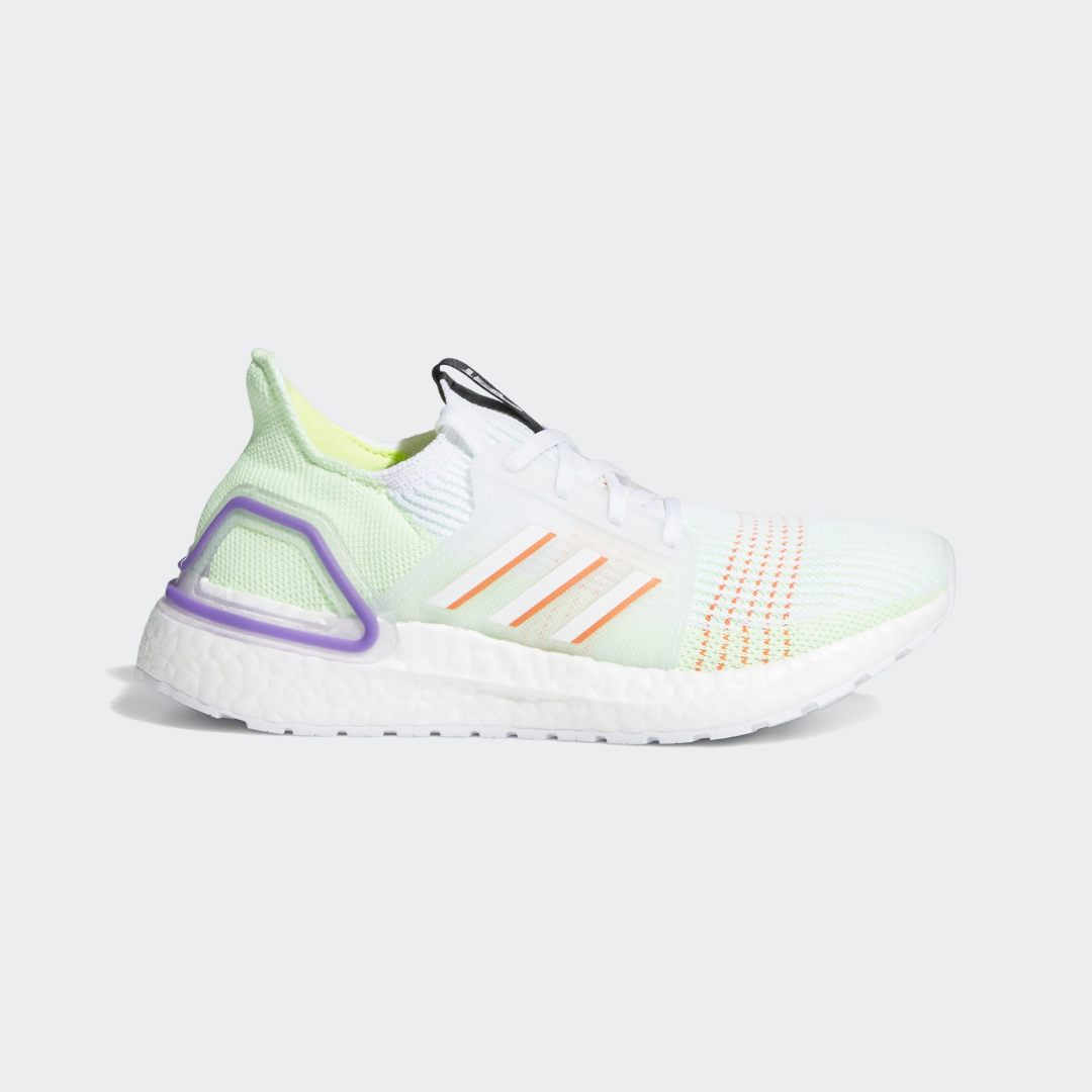 Ultraboost 19 Shoes White Kids Comfortable Running Shoes Adidas Ultra Boost Ultra Boost